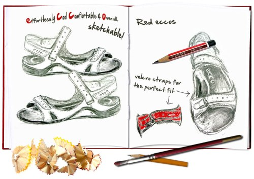New-red-ecco-sandals-SusanCharlotteGraphics