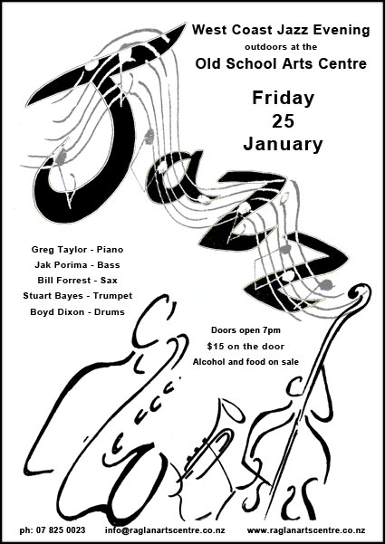 Poster-JazzEvening-RaglanOldSchool-SusanCharlotteGraphics